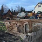 Baustelleneinrichtung ZFH Zschorlau