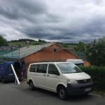 Fertigstellung der Rohbauarbeiten ZFH in Zschorlau